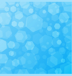 blue geometric abstract techno background with vector image