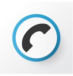 Call icon symbol premium quality isolated phone vector