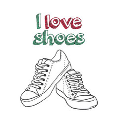 For logo - shoe store vector