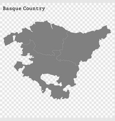 High quality map is a state spain vector