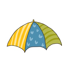 Icon umbrella vector