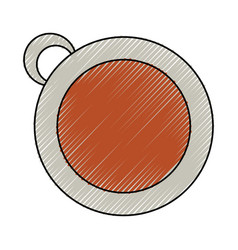 Isolated coffee cup vector