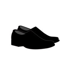 man shoes logo vector image