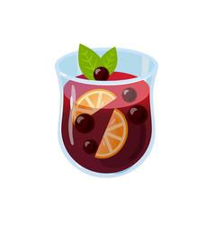 mulled wine glintwein vector image