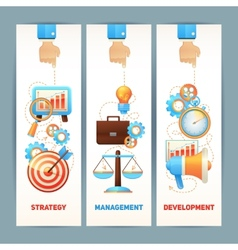 SEO banners set vector image