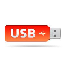 usb key vector image