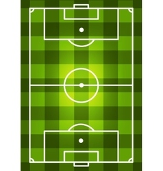 Soccer Field Background vector image vector image