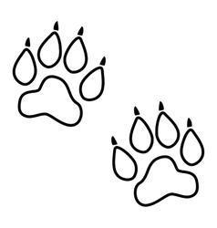 Animal line icon vector