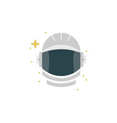 Astronaut colored icon element of space signs vector