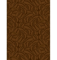 Background coffee beans vector