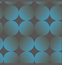 blue and gray gradient circle seamless pattern vector image