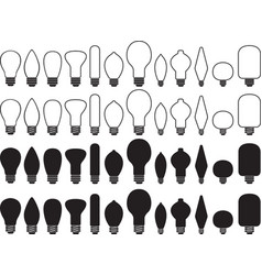 Bulb collection vector