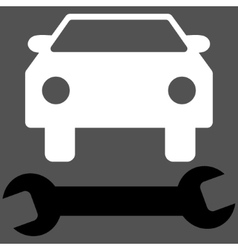 Car Repair Flat Symbol vector image