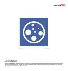 Cell icon - blue photo frame vector