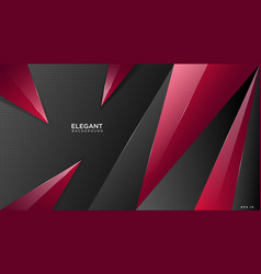Elegant triangle background vector