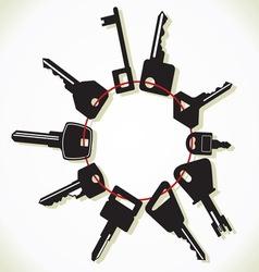 Kljucevi svita resize vector