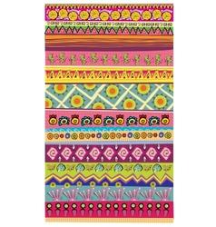 Stripe pattern wallpaper series vector