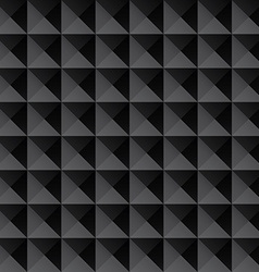 triangle black texture seamless background vector image