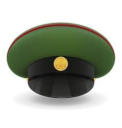 professional uniform cap 02 vector image
