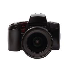 analog slr camera vector image