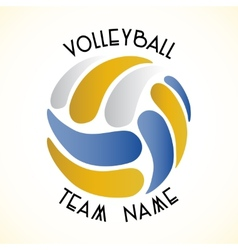Volleyball icon vector image vector image