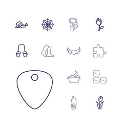 13 pattern icons vector