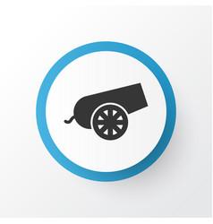 Bomb icon symbol premium quality isolated cannon vector