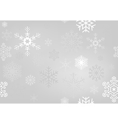 Christmas Paper With Snowflakes vector image