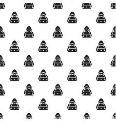 Hacker pattern seamless vector