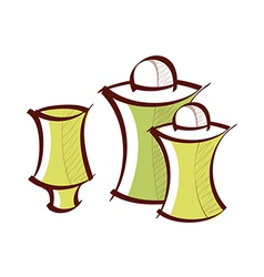 Icon pepper shaker vector