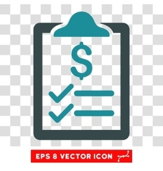Invoice Pad Icon vector
