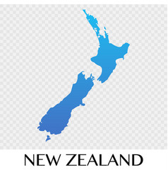 new zealand map in asia continent design vector image