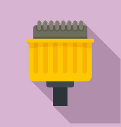 Pins adapter icon flat style vector