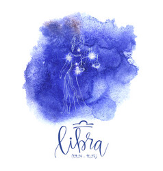 Astrology sign libra vector