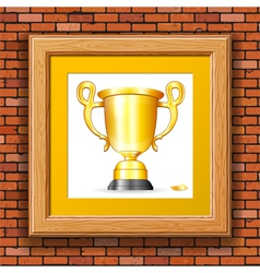Gold Prize vector image vector image
