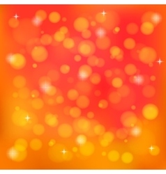 Orange abstract blurred background vector image