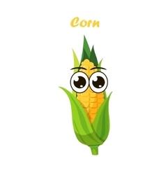 corn cob vector image vector image