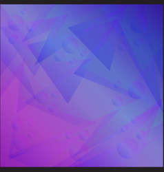 bright abstract geometric background with vector image