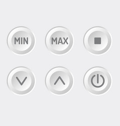 Control panel brightness adjustment vector