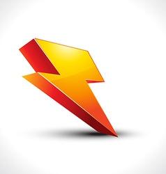 Electricity icon vector