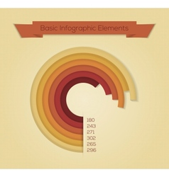 For web design infographics vector