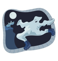 Ghost Cartoon vector