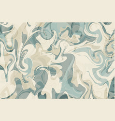 Marbled paper turquoise craft product texture vector