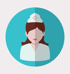 nurse woman vector image