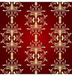 vintage seamless pattern ii vector image