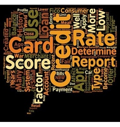 Why Your Credit Score Matters text background vector