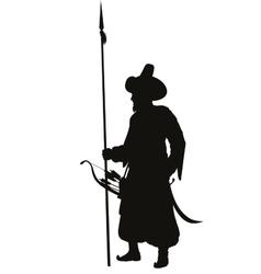 Turkish spearman Warriors Theme vector image vector image