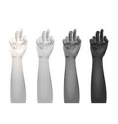 women arms templates vector image vector image