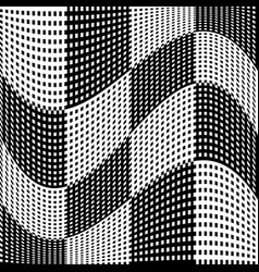 Abstract geometric monochrome graphics with vector