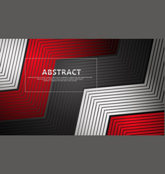 Abstract lines on triangle shape background vector